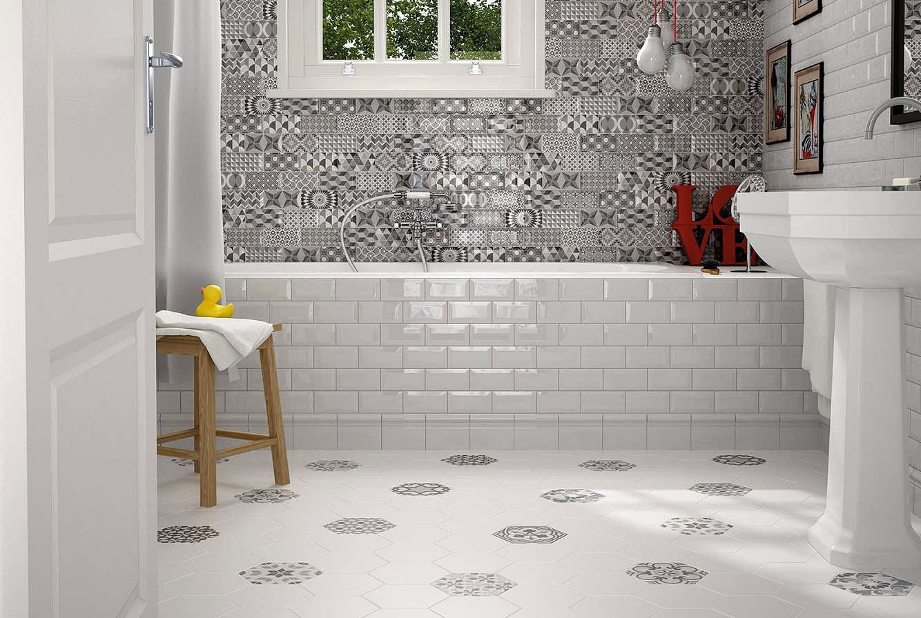 Floor porcelain tile