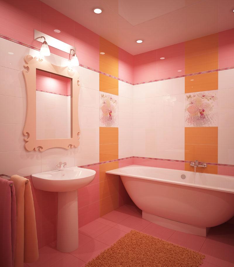 Кафельная плитка для ванной в интерьере фото